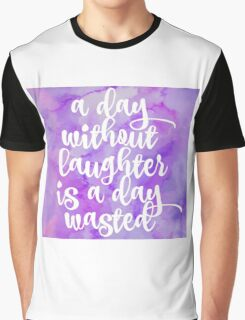 laughter Graphic T-Shirt