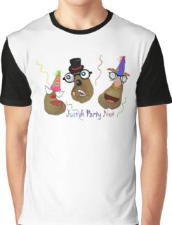 Just A Party Nut Graphic T-Shirt