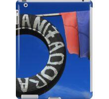 Tire Repair and Flag iPad Case/Skin