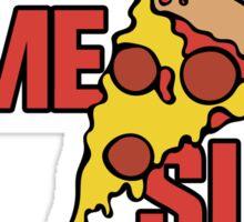 Home slice of Pizza Sticker
