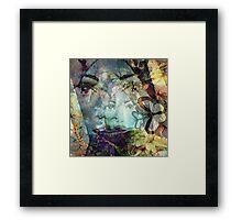 Beautiful Ghost Girl Framed Print