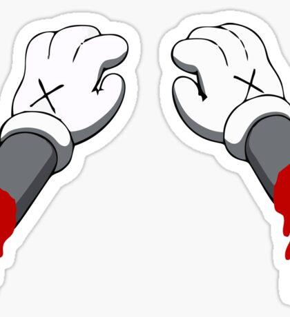Cut Your Hand Sticker