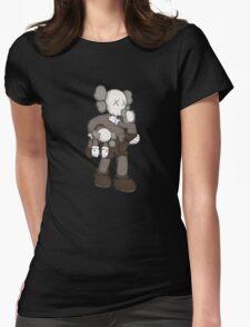 Damn Kids Womens Fitted T-Shirt