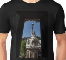 Fanciful Trencadis Tilework - Antoni Gaudi's Entrance Pavilion at Park Guell Unisex T-Shirt