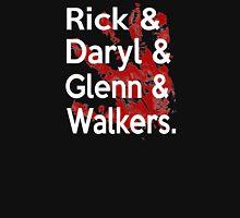 Rick & Daryl & Glenn & Walkers. Unisex T-Shirt