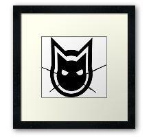 Graphics Cat Framed Print
