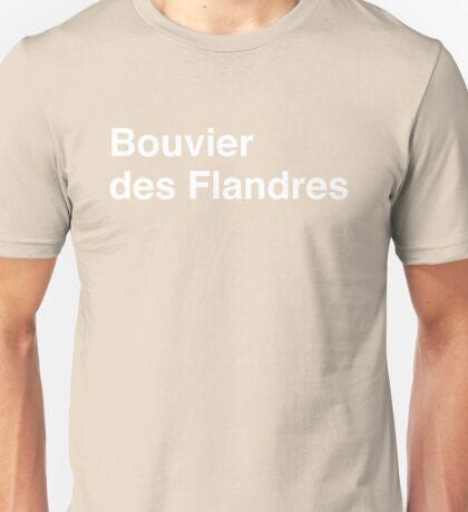 Bouvier des Flandres Unisex T-Shirt
