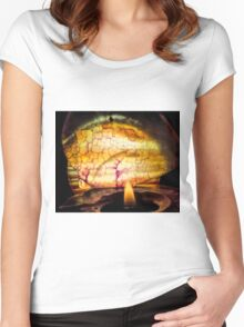 Wine in the Vein Women's Fitted Scoop T-Shirt