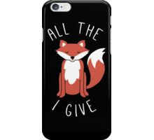 All the Fox iPhone Case/Skin