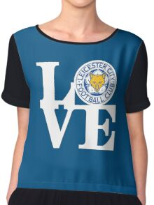 Love Leicester Chiffon Top
