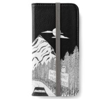 The Road to Twin Peaks iPhone Wallet/Case/Skin