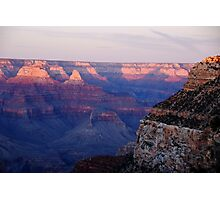 Sunset - Grand Canyon Photographic Print