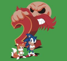 Sonic The Hedgehog 2 Cover Art One Piece - Short Sleeve