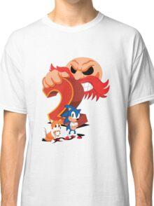 Sonic The Hedgehog 2 Cover Art Classic T-Shirt