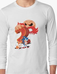 Sonic The Hedgehog 2 Cover Art Long Sleeve T-Shirt
