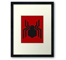 Spider-Man Symbol MCU 2016 Framed Print