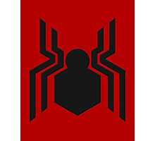 Spider-Man Symbol MCU 2016 Photographic Print