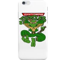 Mighty Morphin Turtles iPhone Case/Skin
