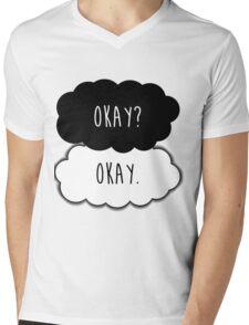 Okay? Okay. Mens V-Neck T-Shirt