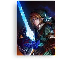 Link and Navi Canvas Print
