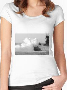 The power of one Women's Fitted Scoop T-Shirt