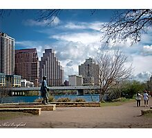 Austin Texas Skyline Photographic Print
