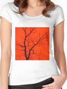 Fire Tree Women's Fitted Scoop T-Shirt