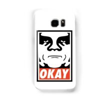 OBEY GIANT - OKAY Shepard Fairey Samsung Galaxy Case/Skin