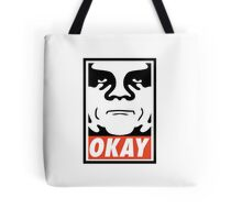 OBEY GIANT - OKAY Shepard Fairey Tote Bag