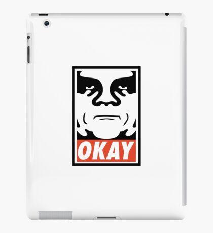 OBEY GIANT - OKAY Shepard Fairey iPad Case/Skin