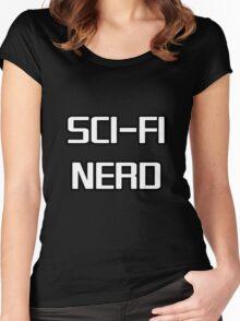 Sci Fi Nerd Women's Fitted Scoop T-Shirt