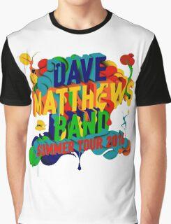 SUMMER TOUR 2016 DAVE MATTHEWS BAND Graphic T-Shirt