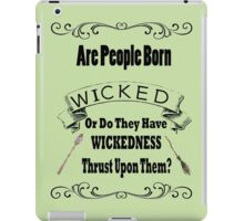 Wicked The Musical iPad Case/Skin