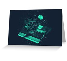 A Page Turner Greeting Card