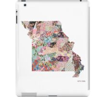 Montana map iPad Case/Skin