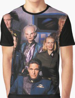 Babylon 5 cast Graphic T-Shirt