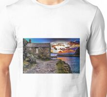 The Old Fisherman's Hut HDR Unisex T-Shirt