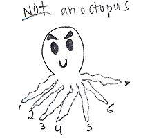 Not an Octopus Photographic Print