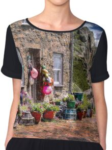 THE FISHERMAN'S COTTAGE HDR Chiffon Top