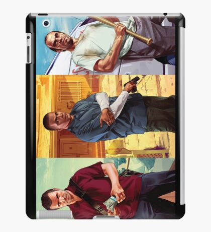 Michael, Franklin and Trevor  iPad Case/Skin