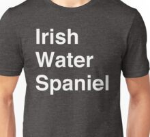 Irish Water Spaniel Unisex T-Shirt