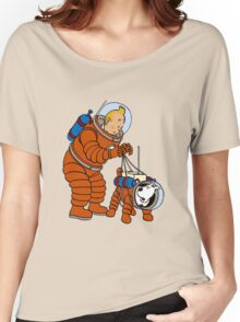 tintin Women's Relaxed Fit T-Shirt