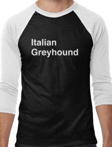 Italian Greyhound Men's Baseball ¾ T-Shirt