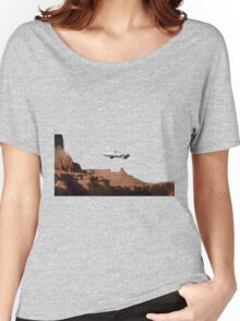 THELMA AND LOUISE CAR Women's Relaxed Fit T-Shirt