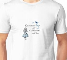 Alice in Wonderland Curiouser Unisex T-Shirt