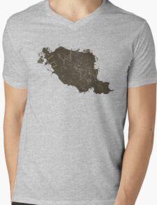 Impala Initials Mens V-Neck T-Shirt