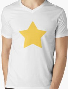Steven Star Mens V-Neck T-Shirt