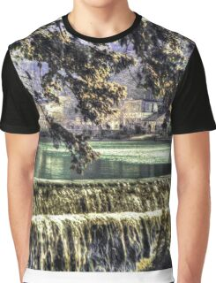 Cheddar Gorge Somerset - HDR Graphic T-Shirt