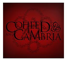 THE NEW COHEED & CAMBRIA FONT LOGO Photographic Print