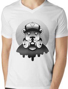 Urban Ursine Mens V-Neck T-Shirt